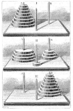 La torre de Brahma y el fin del mundo.