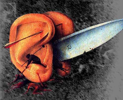 El Bosco, historia de un pintor maldito Cuchillo