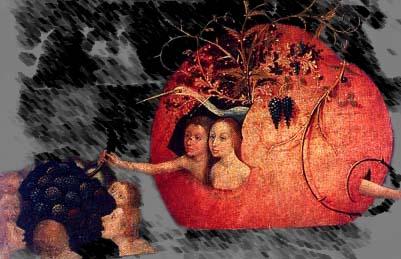 El Bosco, historia de un pintor maldito Frutas