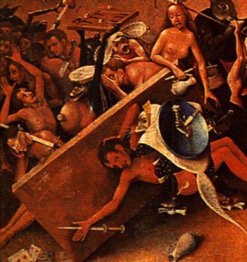 El Bosco, historia de un pintor maldito Juego