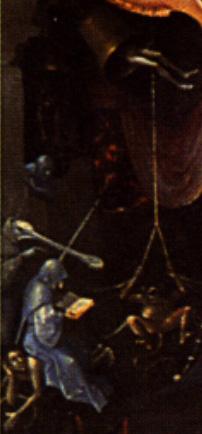 El Bosco, historia de un pintor maldito Monjes