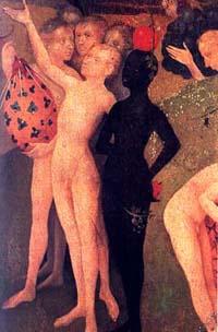 El Bosco, historia de un pintor maldito Senalando